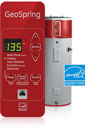 GE GeoSpring Hybrid-Electric Water Heater